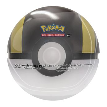 Pokémon JCC - PokéBall 3 Boosters + 1 Jeton 2020 Tin TinBall