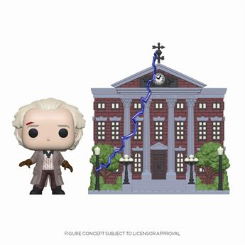 Funko Pop! Town Back to the Future S4 Doc with Clock Worker