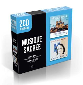 2 Cd Originaux : Notre-Dame - Les Plus Grands Airs De La Musique Sacrée / Chants Sacrés / CD