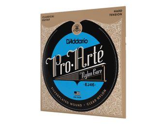 D'Addario - Jeu de cordes pour Guitare Classique  - EJ46 Pro Arte
