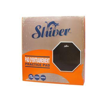 Shiver - Pad d'entrainement 12 pouces en silicone noir