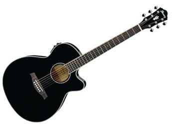 Ibanez - AEG10E BK Guitare électro-acoustique - Noir