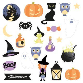 Die cut paper halloween