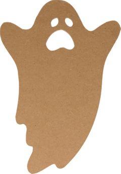 Silhouette mdf halloween fantôme 25cm