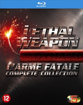 Lethal Weapon  - L'Arme Fatale 1-4 Collection (Blu-Ray)