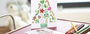 DIY - Je crée mes cartes de Noël