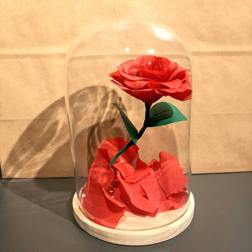 DIY - Une rose eternelle pour la Saint-Valentin