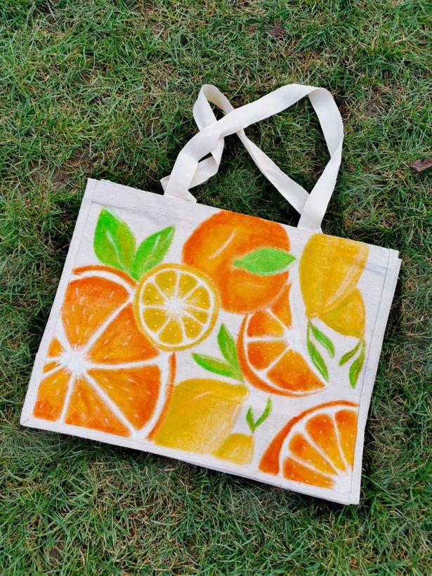 DIY - Personnalise ton sac de courses avec les Lily Oil sticks by Artemio