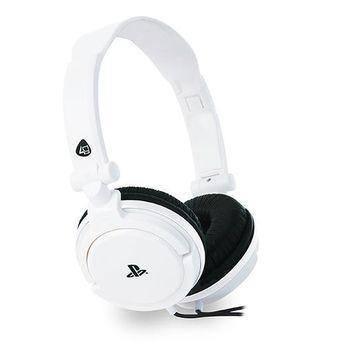 4Gamers - Casque de jeu stéréo filaire PRO 4-10 Blanc pour PS5 et PS4