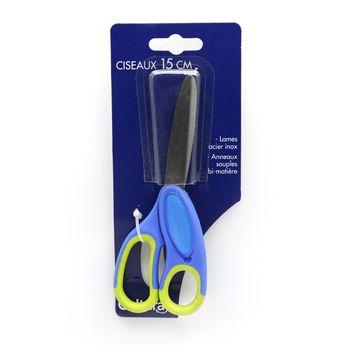 Ciseaux pour écolier droitier - 15cm - Cultura