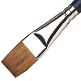 Pinceau à lavis en martre pour aquarelle -manche court - 19mm