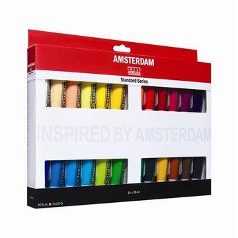 Amsterdam couleurs acrylique set 24 x 20ml