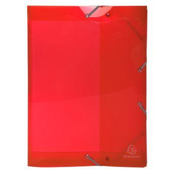 Boîte de classement + élastiques A4 IDERAMA PP D40 couleurs assorties