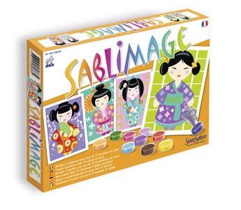 Kit créatif Sablimage - Kokeshi
