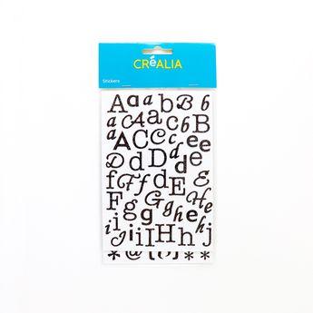 Alphabet Glitter - Noir - Créalia