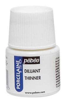 Diluant - Porcelaine 150 -  Transparent - 45 ml - Pébéo