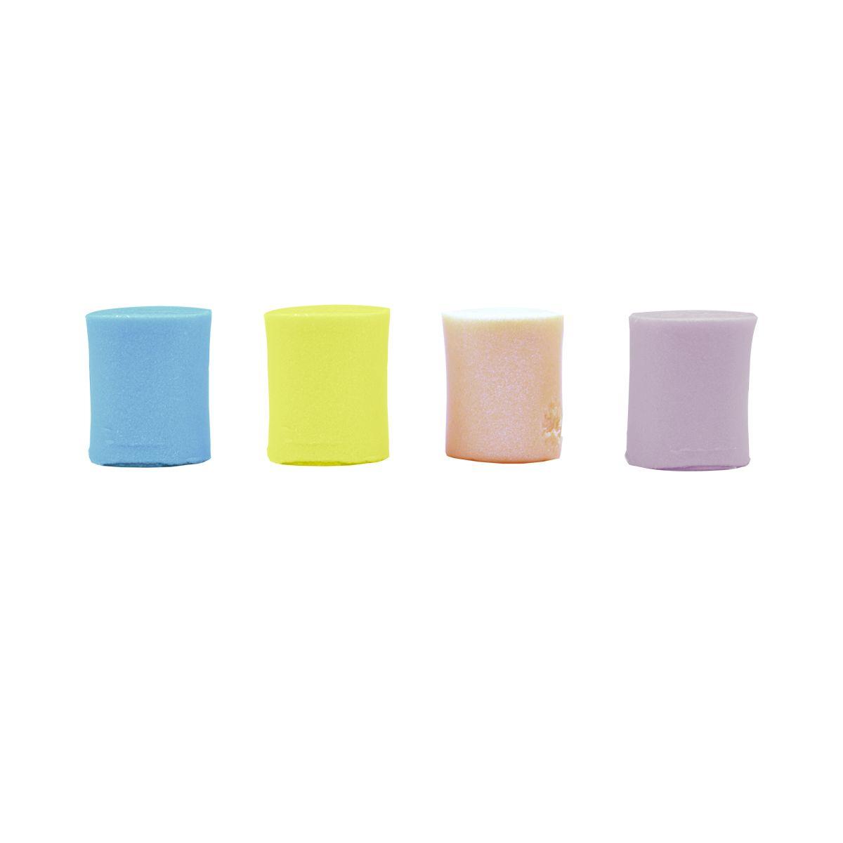 Set de 4 pots de pâte à modeler couleurs nacrées - Créalia