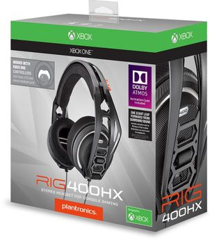 Rig 400Hx Dolby Atmos Official Headset - Xbox One